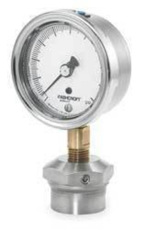 Ashcroft Compound Gauges : Ashcroft gauge ss t in vac to psi