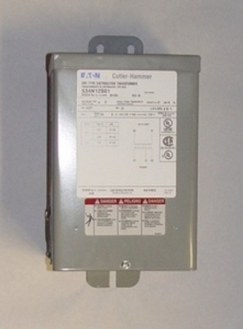 Eaton S34N12S01 Dry Type Distribution Transformer