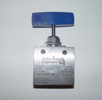 Autoclave 30VM9002-SOGWO  Engineers High Flow Needle Valves