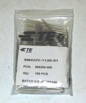TE Connectivity Fiber 60mm Sleeves SMOUV-1120-01 100/Pack